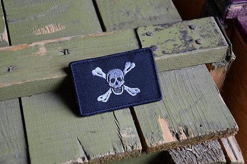 Патч флаг Британского пирата Ричарда Уорли с липучкой.