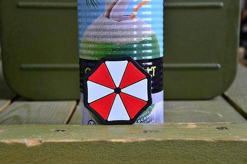 Патч, нашивка Umbrella corporation, ПВХ с липучкой.