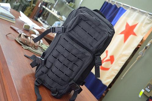 Черный трехдневный штурмовой рюкзак  Объем: 25 литров