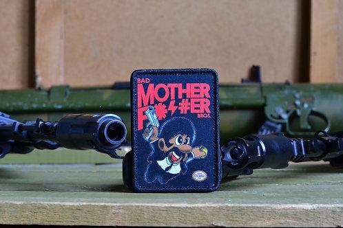 """Нашивка, патч """"Mother Fucker"""" с липучкой."""
