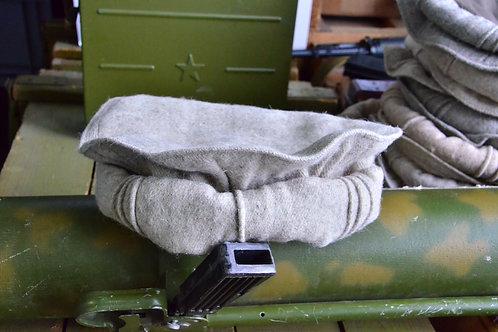 Новые оригинальные светло серые Афганские шапки Пуштунки (пакуль, пакол).