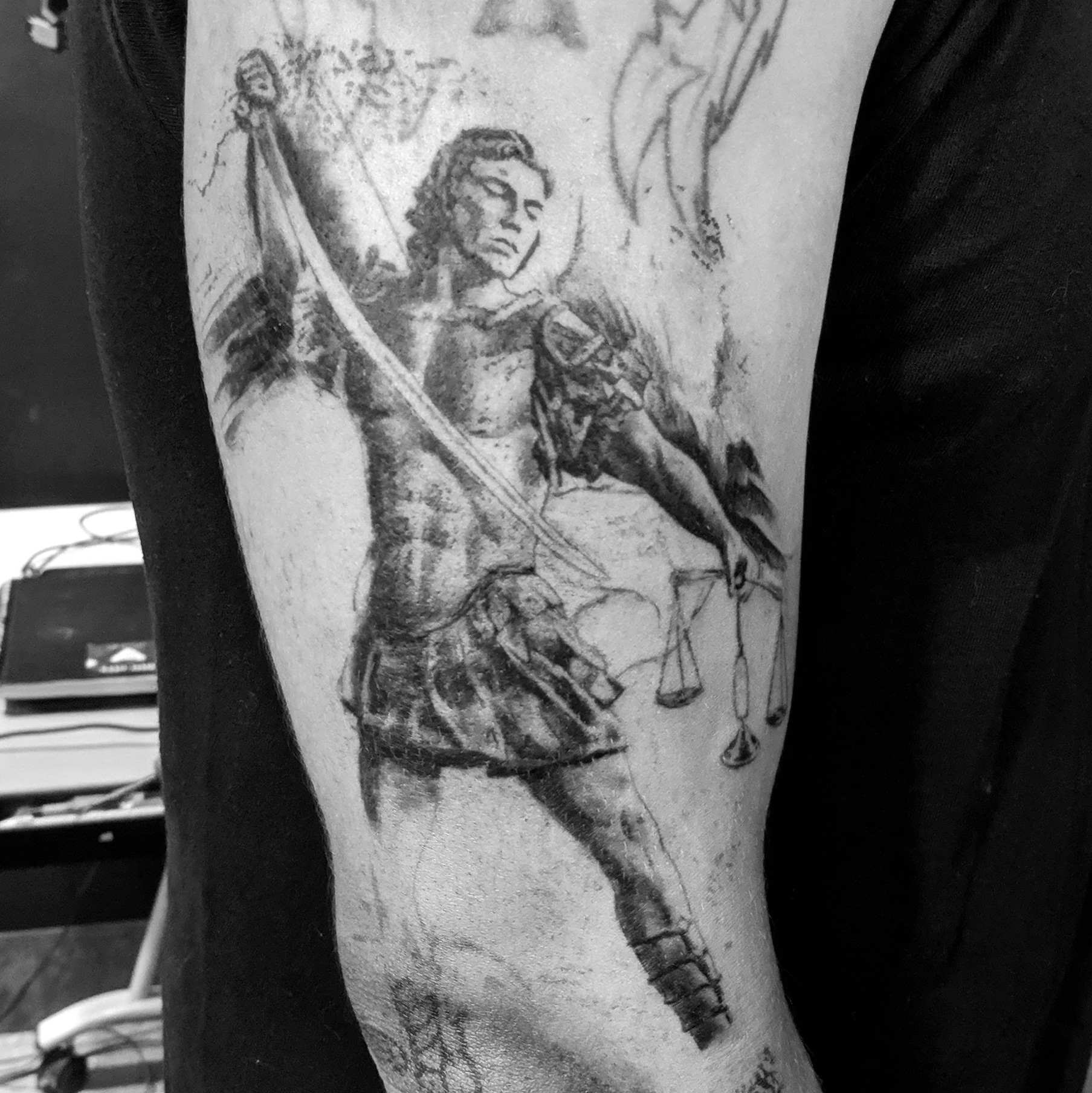 St Michael Tattoo