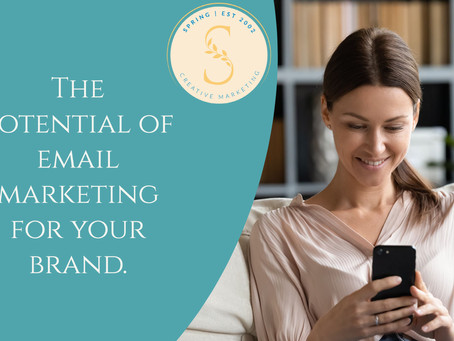 a key digital strategy is email marketing; its potential is worth talking about.