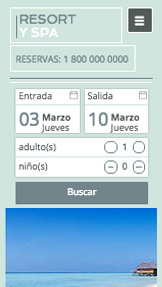 Hospedaje website templates –  Complejo de spa