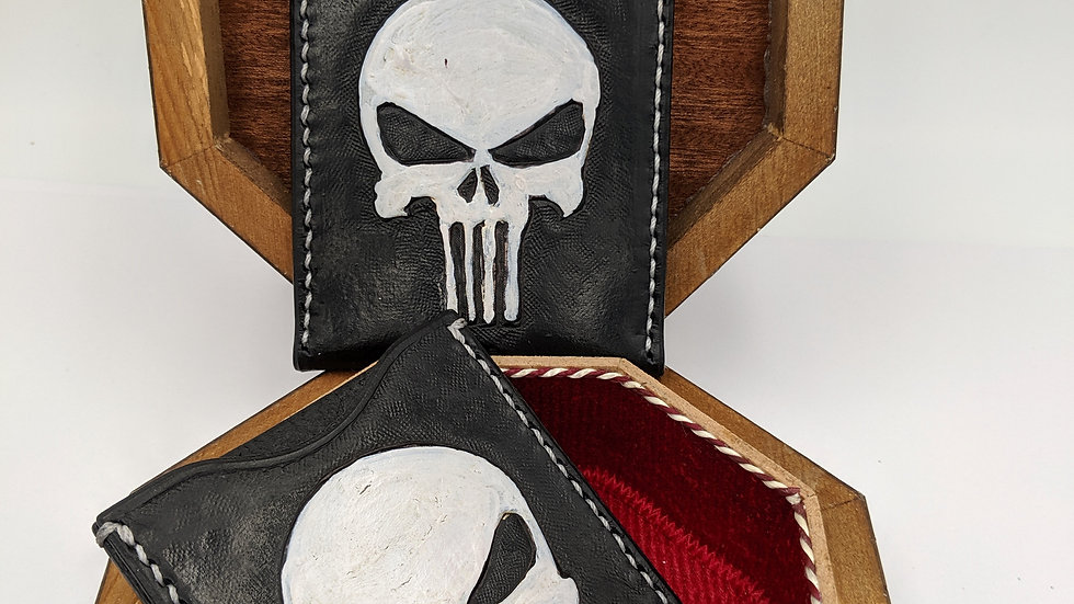 The Punisher minimalist wallet