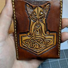 Viking single card wallet