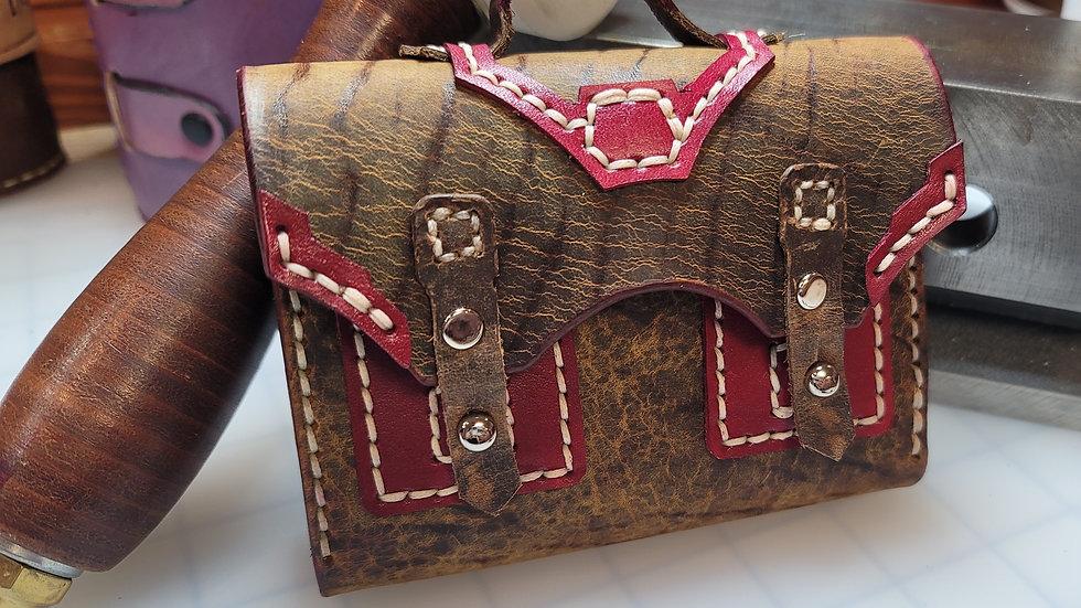 Briefcase Leather Wallet/Women's Wallet
