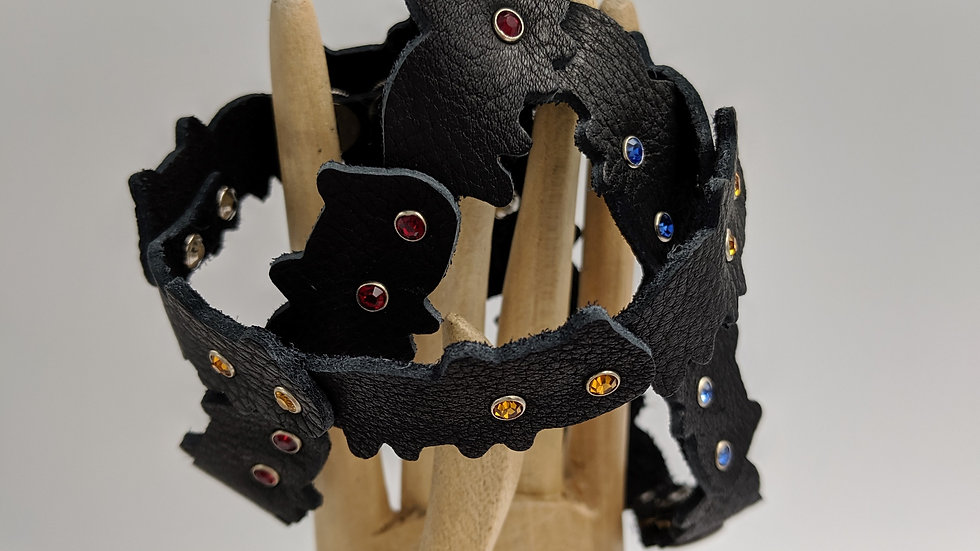 Halloween Black Cat Bracelet