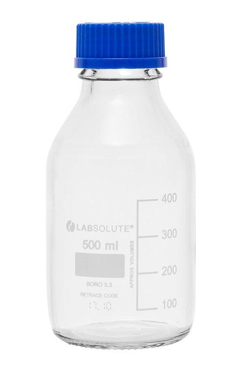 Glasflasche mit Schraubgewinde 0,5L