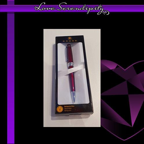 Cross Bailey Red Ballpoint Pen