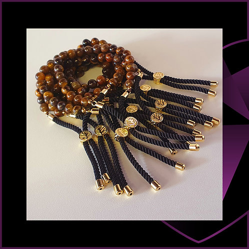 Tiger Eye Gold Plated
