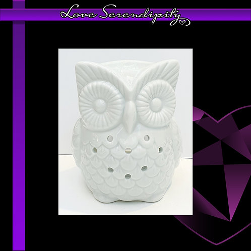 Ceramic Owl Wax Melter