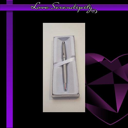Cross Beverly Brushed Silver Gel Ink Pen