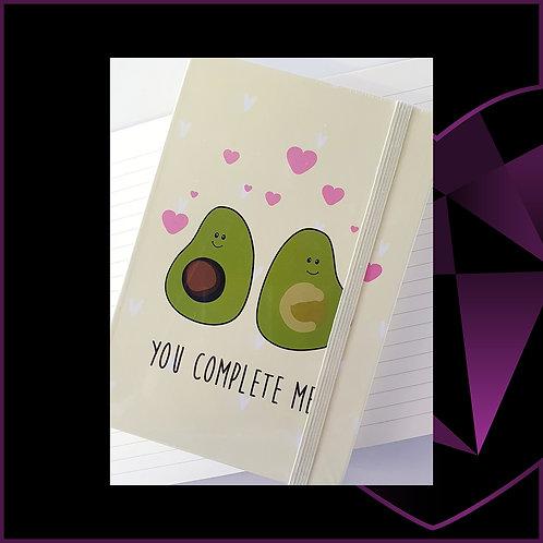 A5 Notebook Avocado Complete Me