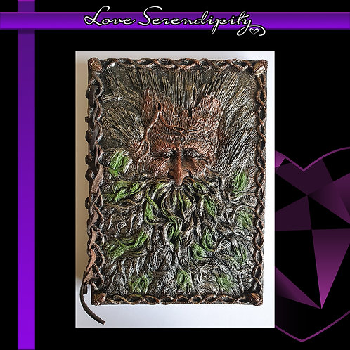 Tree Beard Resin Cover Notebook