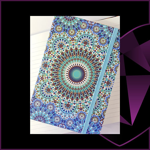 A5 Notebook Mandala D3