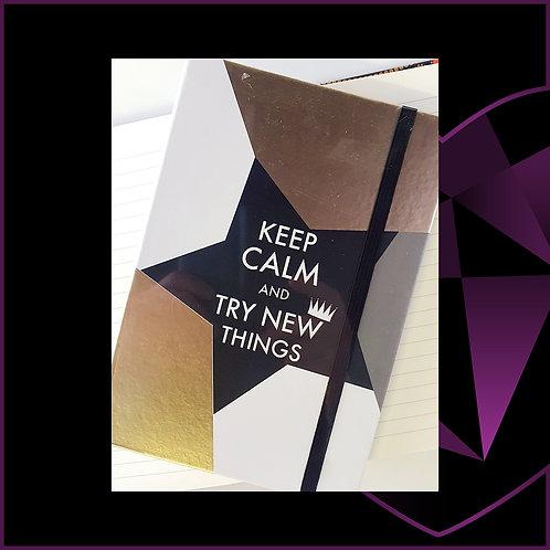 A5 Notebook Keep Calm