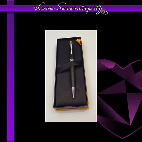 Cross Beverly Satin Black Ballpoint Pen