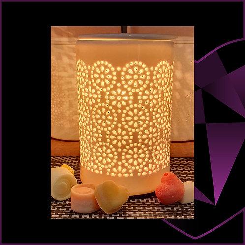 Aroma Lamp White Circles
