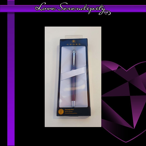 Cross Beverly Purple Fountain Pen