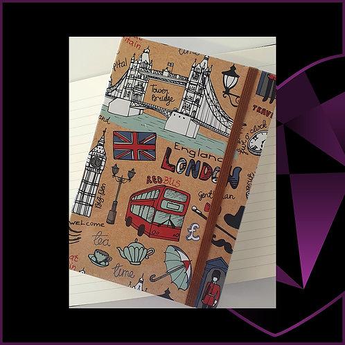 A5 Notebook London