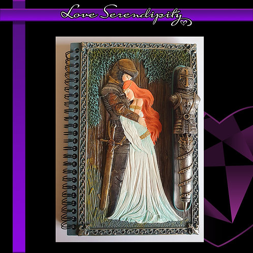 Maidens Embrace Resin Cover Notebook