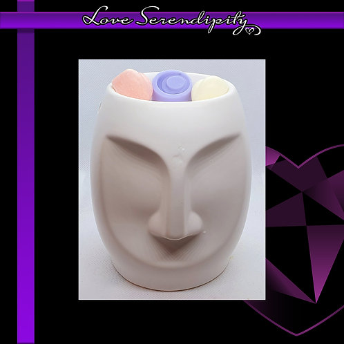 Dolomite Face Wax Melter White