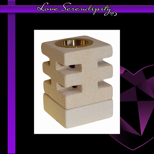 Sandstone Abstract Cuts Wax Melter