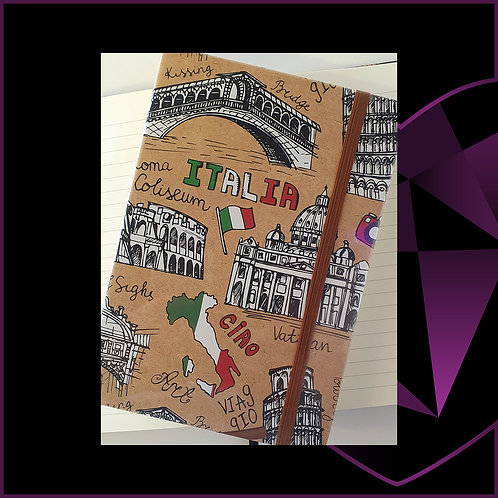 A5 Notebook Italy