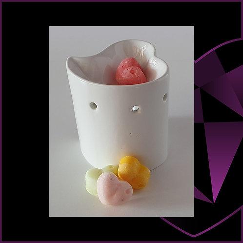 Ceramic White Heart Wax Melter