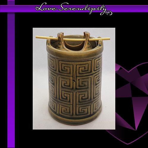Ceramic Tower Hanging Pot Wax Melter