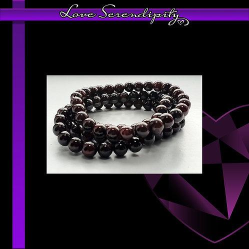Blood Garnet Power Bracelet