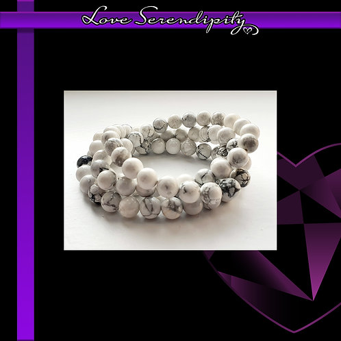 White Jasper Power Bracelet