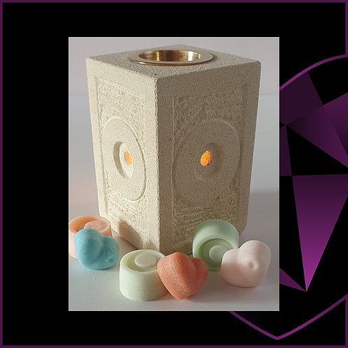 Sandstone Circles Wax Melter