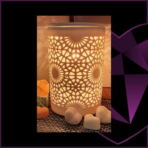 Aroma Lamp White Lace