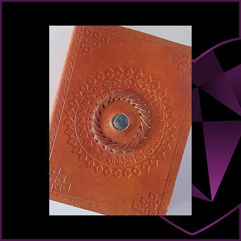 Handmade Leather Bound Notebook Lapis
