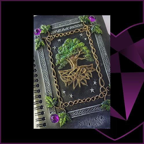 Dream Book Resin Cover Notebook