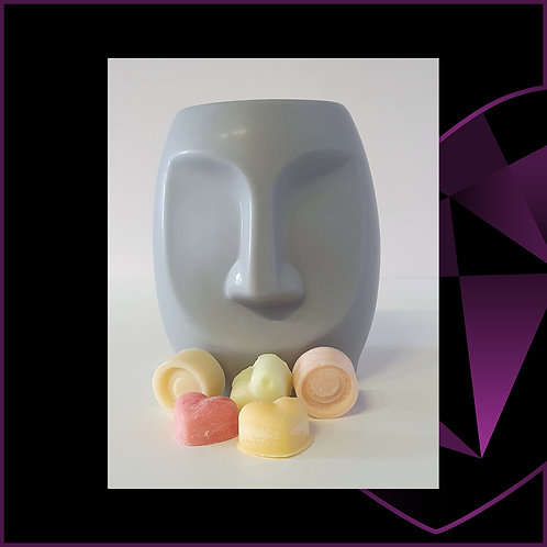 Dolomite Face Wax Melter Grey