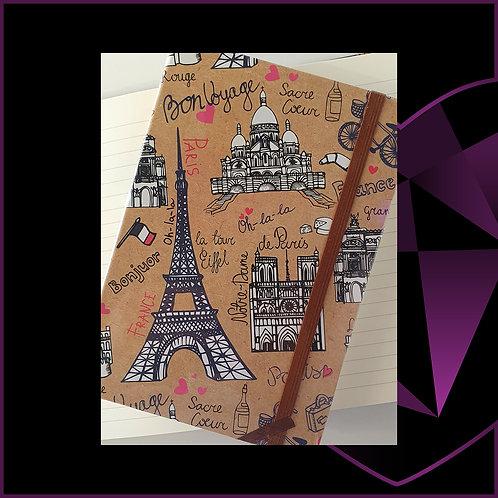 A5 Notebook Paris