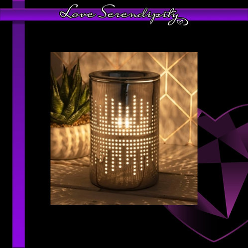 Aroma Lamp Silver Dots