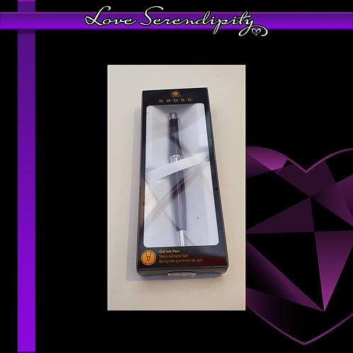Cross Beverly Purple Gel Ink Pen