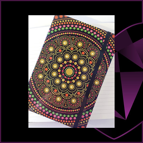 A5 Notebook Mandala D1