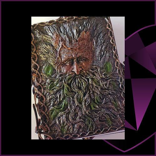 Tree Beard Resin Cover Notebook
