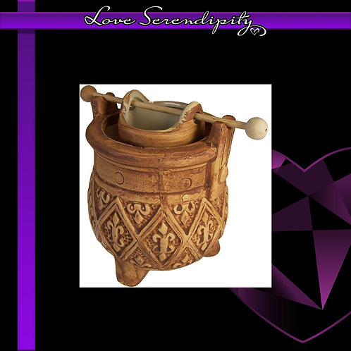 Cauldron Wax Melter Brown