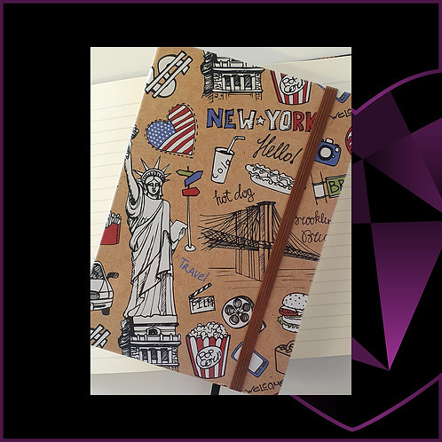 A5 Notebook New York