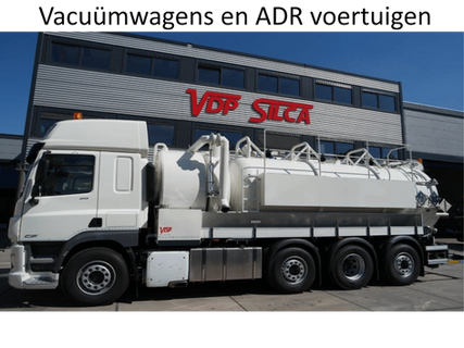 Vacuümwagens / ADR voertuigen
