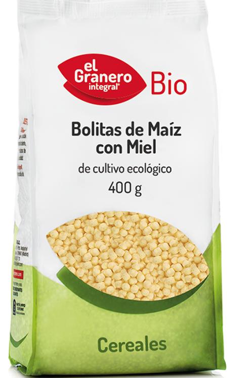 Bolitas de maiz con miel  400 gr