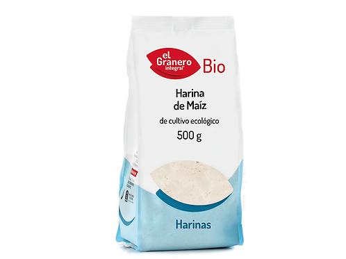 Harina de maíz bio (500  gr)