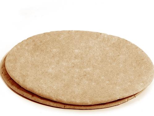 Bases de pizza de trigo integral (2 unidades)