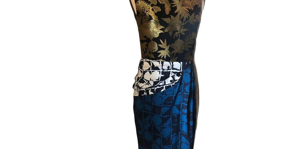 Dries Van Noten Ethnic Pattern Dress